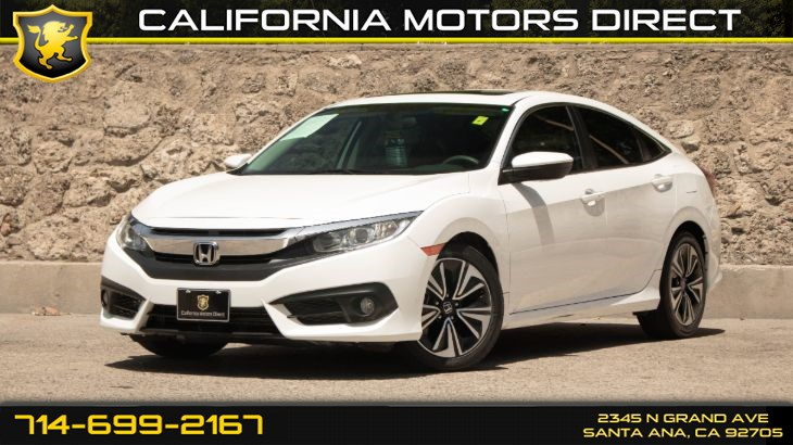 2017 Honda Civic Sedan EX-T (w/ Keyless Start/ Back-Up Camera)