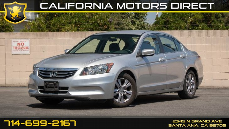 2012 Honda Accord Sdn SE (w/ Keyless Entry / Remote Trunk Release)