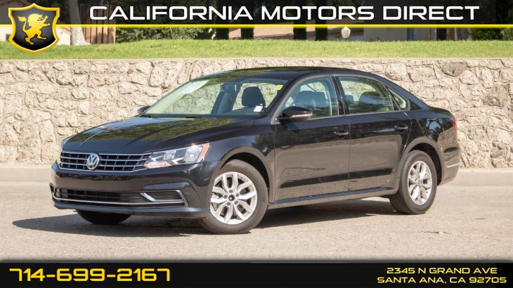 2018 Volkswagen Passat 2.0T S (w/ Driver Assistance Pkg/ Back-Up Camera)
