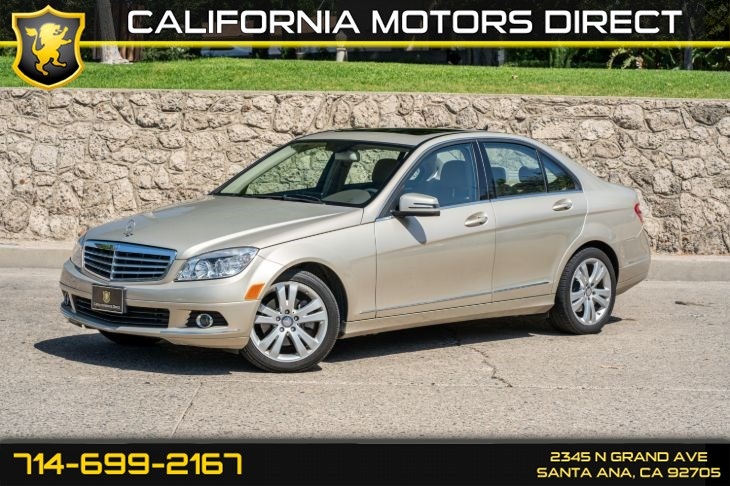 2010 Mercedes-Benz C 300 Luxury Sedan (w/Back-Up Camera/Cruise Control)
