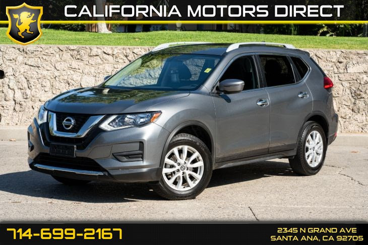2017 Nissan Rogue SV (w/Bluetooth/Back-up Camera)