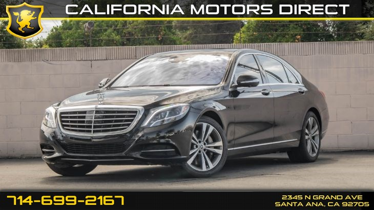 2017 Mercedes-Benz S 550 Sedan (w/ Premium 1 Pkg/ Surround View System)