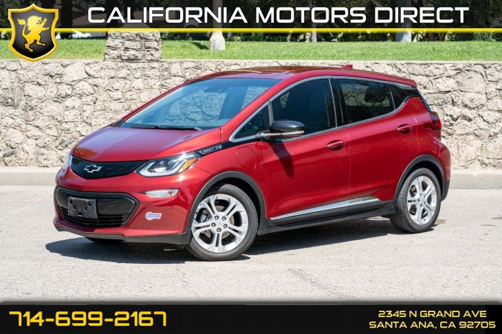 2019 Chevrolet Bolt EV LT (w/Back-Up Camera/Cruise Control)