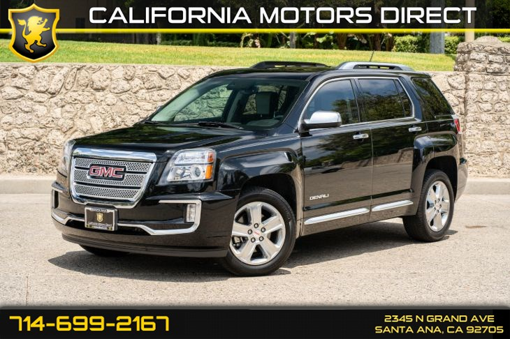 2017 GMC Terrain Denali (w/Leather Seats/Premium Sound System)