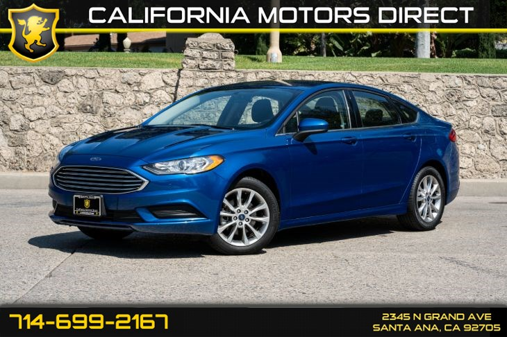 2017 Ford Fusion SE (w/Cruise Control/Bluetooth)