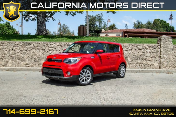 2018 Kia Soul (25 mpg City / 30 mpg Highway)(w/Deep Tinted GL)
