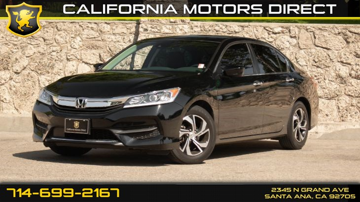 2017 Honda Accord Sedan LX (w/Adaptive Cruise Control/ Back-Up Camera)