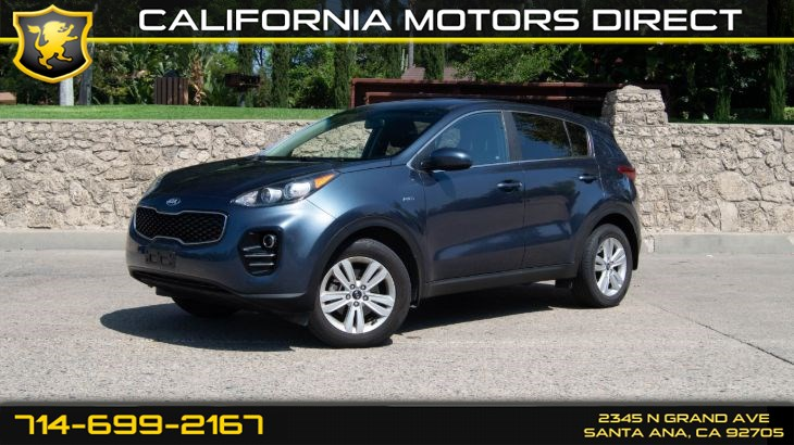 2017 Kia Sportage (W/ 21 mpg City / 25 mpg Hwy) (Deep Tinted Glass)