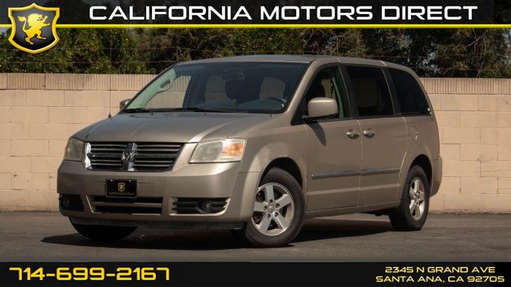 Used 2008 Dodge Grand Caravan Sxt W Keyless Entry Cd Player In Santa Ana