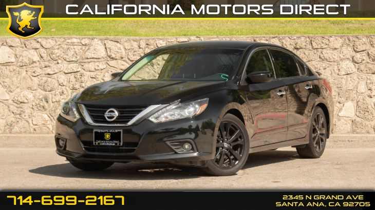 2017 Nissan Altima 2.5 SR (w/Back-Up Camera/ Keyless Start)