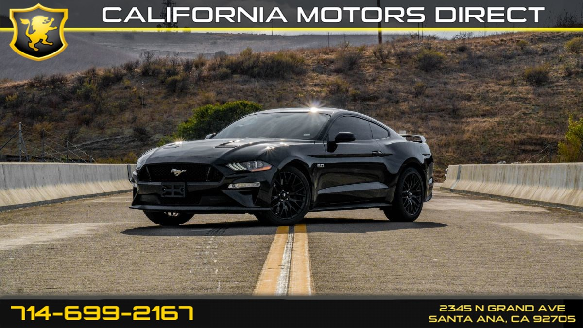 2018 Ford Mustang (6-Speed M/T, GT Performance Package)