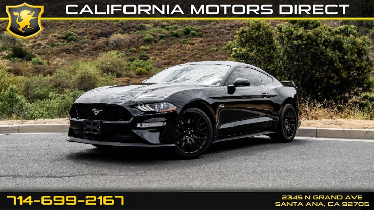 2018 Ford Mustang (6-Speed M/T) (Light Tinted Glass)