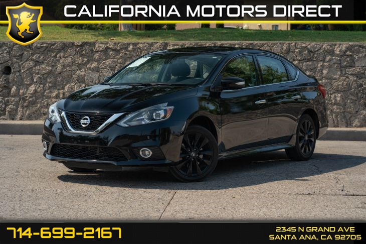 2017 Nissan Sentra SR Turbo (w/Back-Up Camera/Bluetooth)