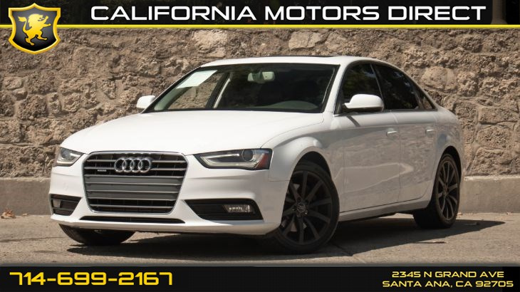 2013 Audi A4 Premium Plus (w/ Keyless Entry/ Premium Sound)