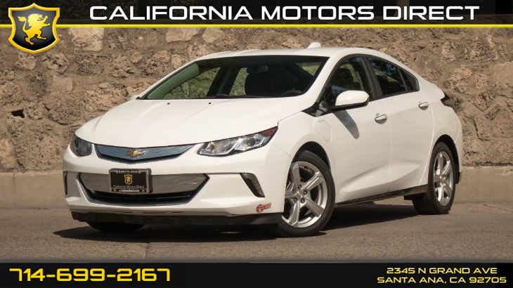 2017 Chevrolet Volt LT (w/ WiFi Hotspot/ Back-Up Camera)