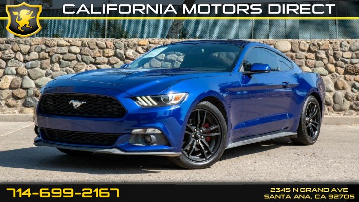 2016 Ford Mustang EcoBoost (W/Bluetooth/Back-Up Camera)