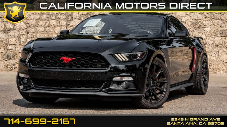 2015 Ford Mustang (W/22 mpg City / 32 mpg Highway) (Light Tinted Gl)