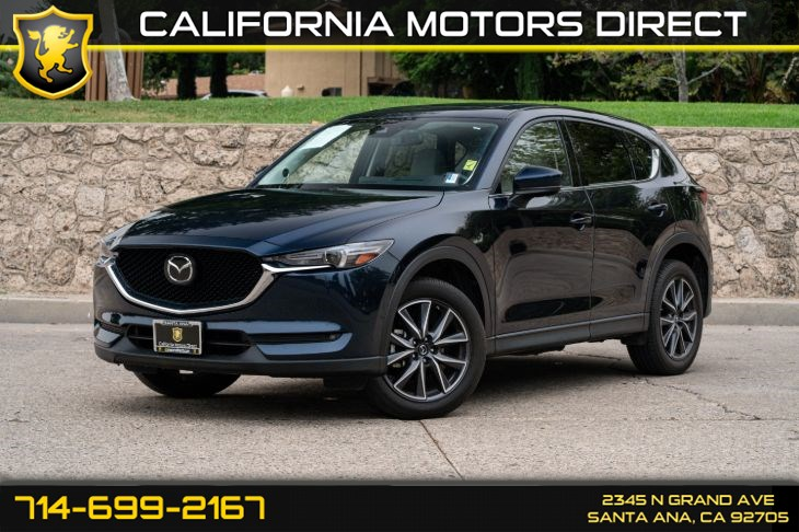 2017 Mazda CX-5 Grand Touring (w/Premium Sound System/ Bluetooth)