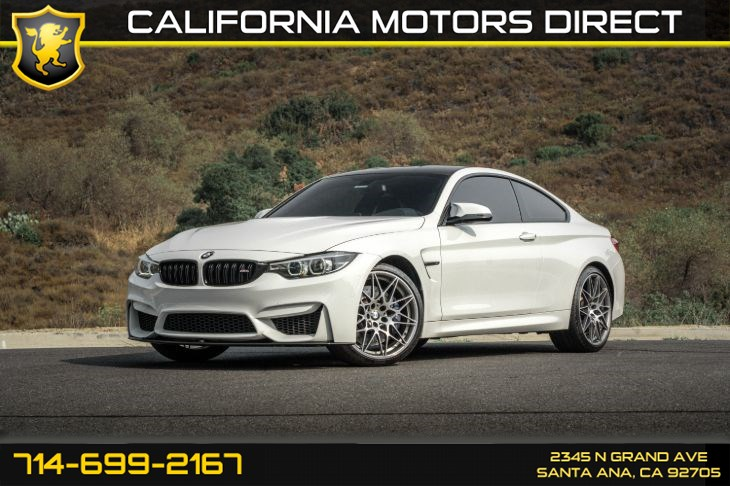 2018 BMW M4 (w/Competition Package/Premium Sound System)