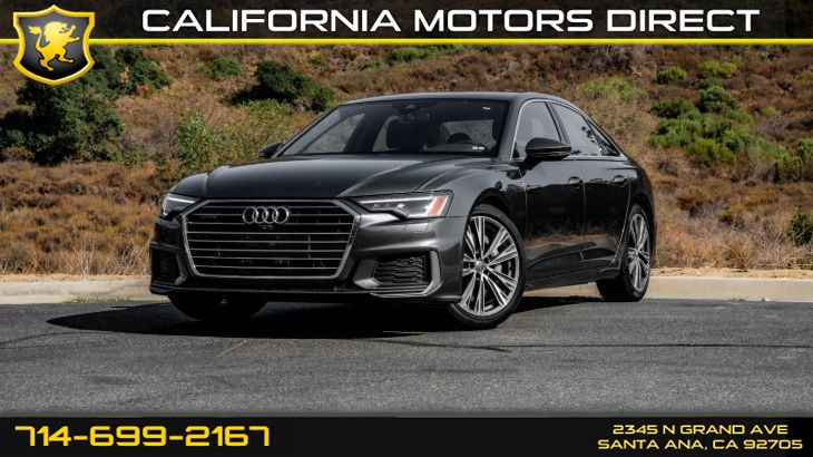 2019 Audi A6 S LINE EXTERIOR PACKAGE