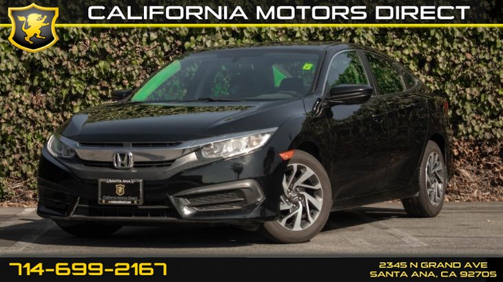 2017 Honda Civic Sedan EX (w/Keyless Start/ Back-Up Camera)