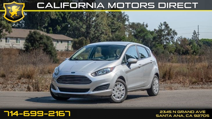 2016 Ford Fiesta S (w/ Smart Device Integration/ Keyless Entry)
