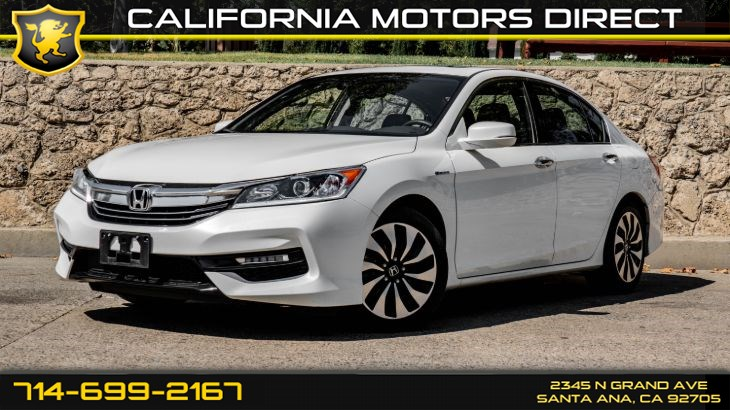 2017 Honda Accord Hybrid (W/Gas/Electric I-4) (49 mpg City / 47mpg Highway)