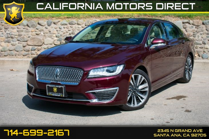 2017 Lincoln MKZ Reserve (w/Bluetooth/Back-Up Camera)
