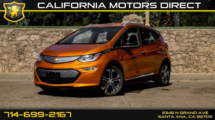2017 Chevrolet Bolt EV (W/ Electric Fast Charge) (Back-Up Camera)