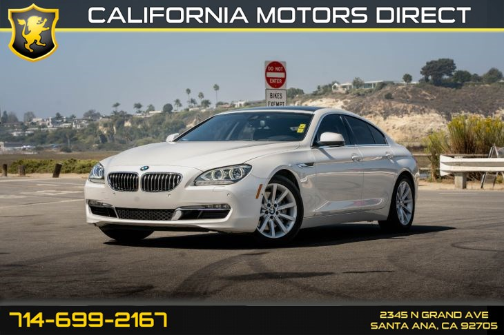 2014 BMW 6 Series 640i (w/Heads-Up Display/Leather Seats)
