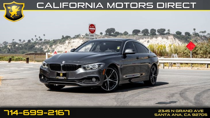 2018 BMW 4 Series 430i (w/Hi-Fi Sound System/Leather Seats)