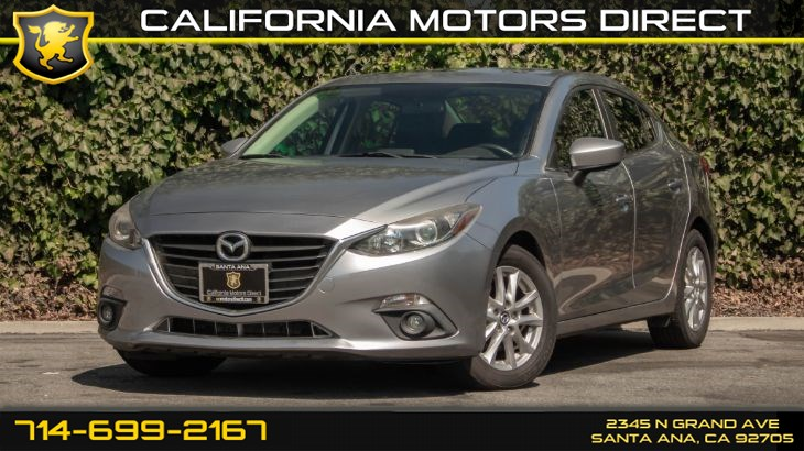 2016 Mazda Mazda3 i Touring (w/Keyless Start/ Back-Up Camera)