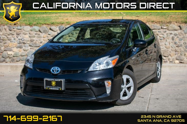 2013 Toyota Prius One (w/Bluetooth/Back-Up Camera)