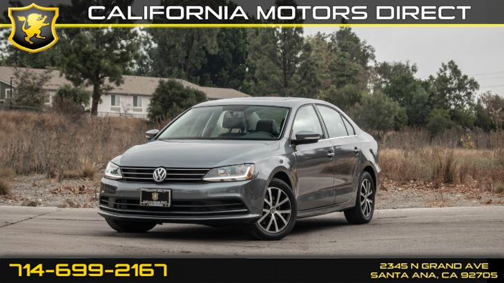 2017 Volkswagen Jetta 1.4T SE (w/ Keyless Start/ Back-Up Camera)