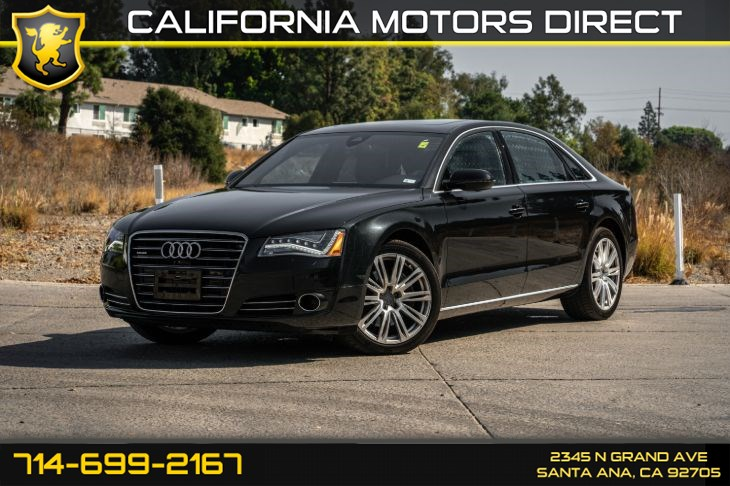 2014 Audi A8 L 3.0T (w/Premium Sound System/Leather Seats)