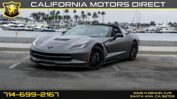 2015 Chevrolet Corvette (W/ 6.2L (376 ci) V8) (7-Speed M/T)