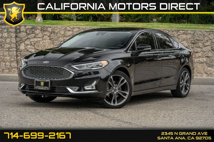 2019 Ford Fusion Titanium (w/Premium Sound System/Leather Seats)