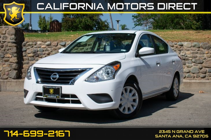 2017 Nissan Versa Sedan SV (w/Bluetooth/Keyless Entry)
