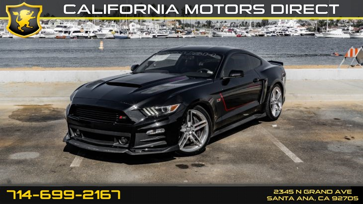 2016 Ford Mustang Roush ( 6-Speed M/T) (ROUSH Stage 3 Kit)