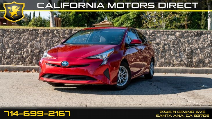 2016 Toyota Prius (W/54 mpg City / 50 mpg Highway) (Light Tinted Gl)