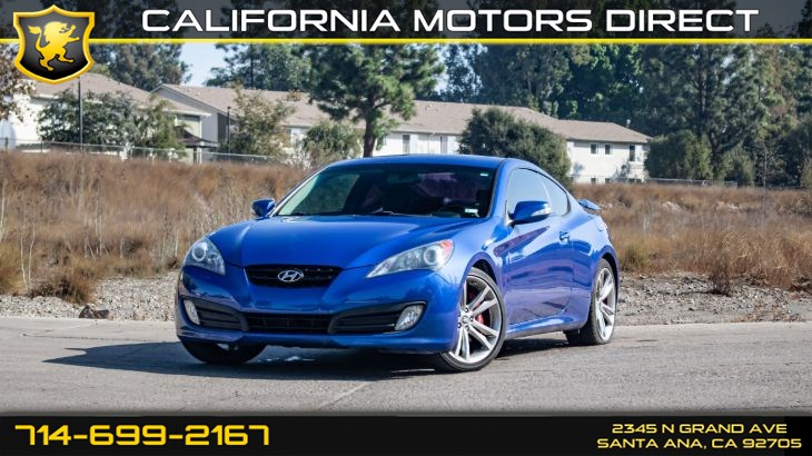 2012 Hyundai Genesis Coupe 3.8 Track (w/Bluetooth/Leather Seats)