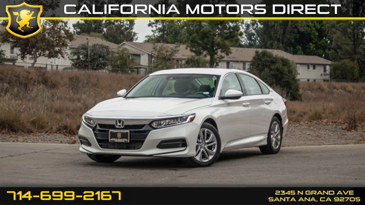 2019 Honda Accord Sedan LX 1.5T (w/  Keyless Start/ Back-Up Camera)
