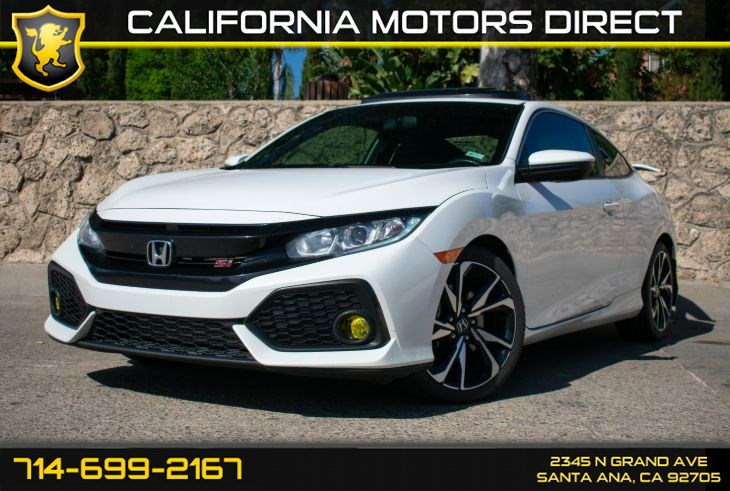 2019 Honda Civic Si Coupe (w/Premium Sound System/Back-Up Camera)