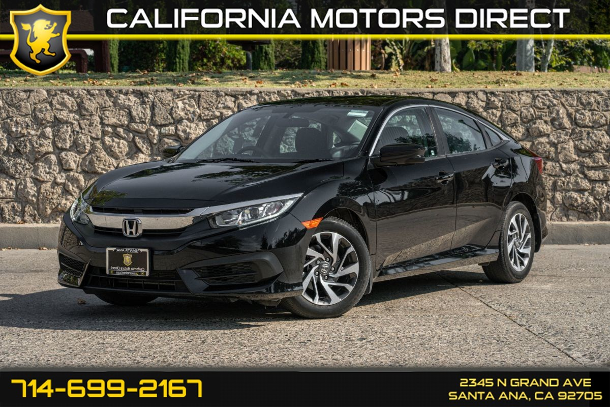 2018 Honda Civic Sedan EX (w/Bluetooth/Back-Up Camera)