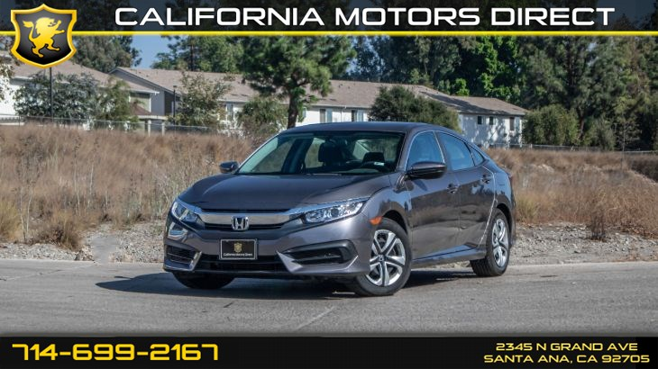 2017 Honda Civic Sedan LX (w/Bluetooth/Back-Up Camera)