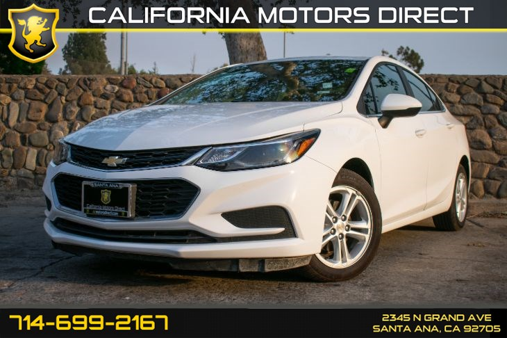 2018 Chevrolet Cruze LT (w/Bluetooth/Back-Up Camera)