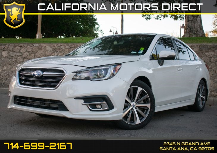 2018 Subaru Legacy Limited (w/Premium Sound System/Leather Seats)