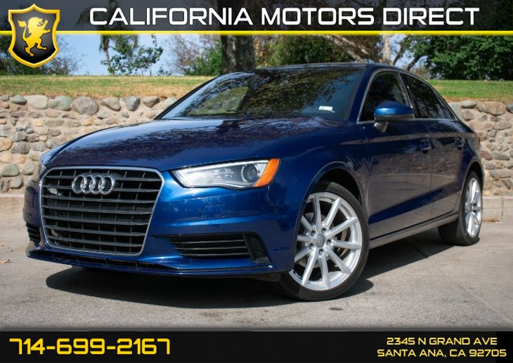 2015 Audi A3 2.0 TDI Premium (W/Bluetooth/Leather Seats)