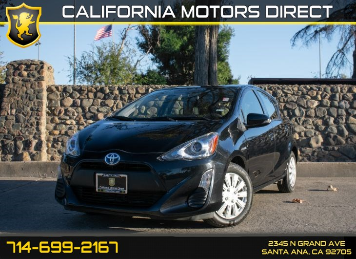 2016 Toyota Prius c One (w/Bluetooth/Bucket Seats)