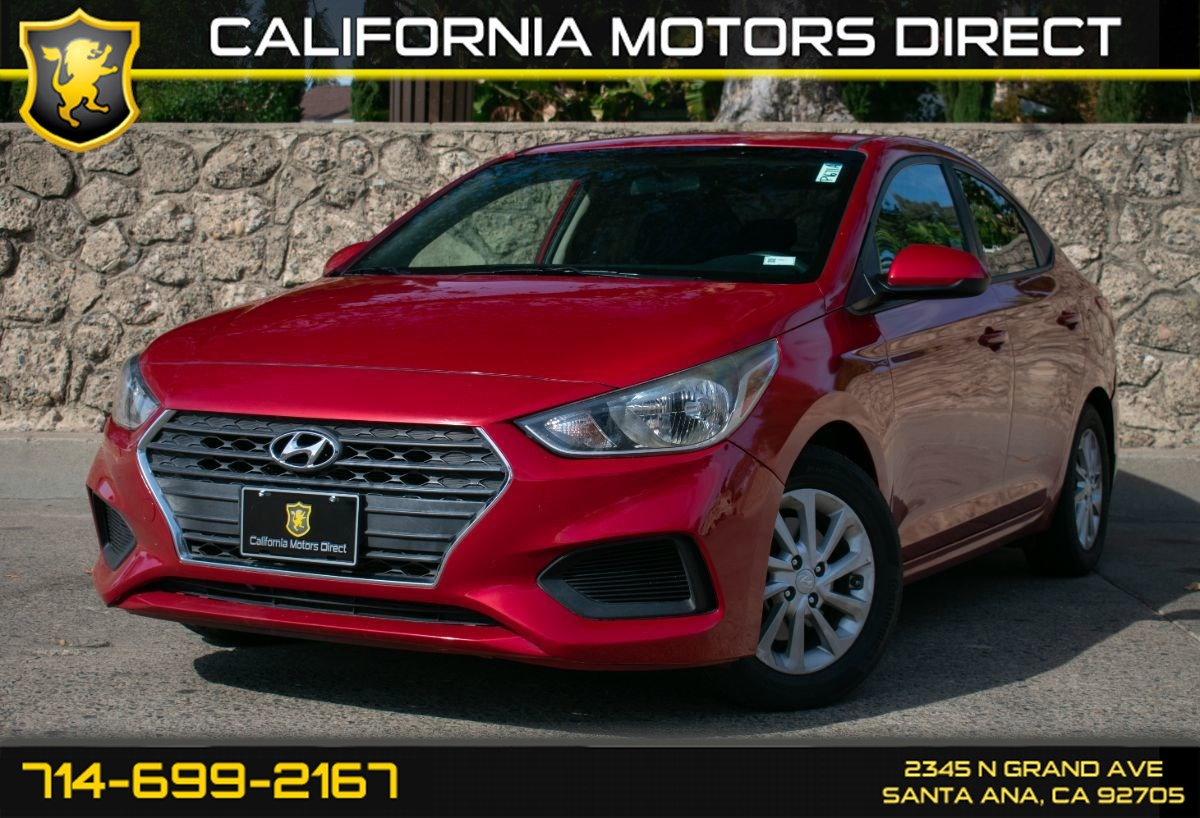 2018 Hyundai Accent SEL (w/Bluetooth/Back-Up Camera)